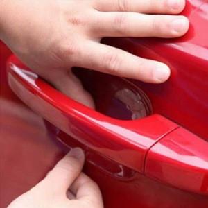 สติ๊กเกอร์ฟิล์ม สำหรับป้องกันด้ามจับประตูรถยนต์