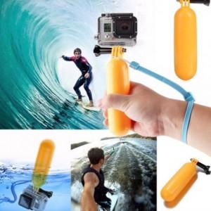 มือจับลอยน้ำสำหรับยึดจับกล้อง Action Camera / Go Pro Hero