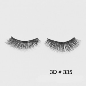 ขนตาปลอม 3D Faux Mink Double Silk Lashes เบอร์ #335