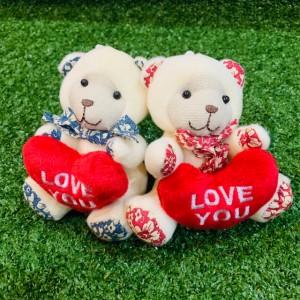 ตุ๊กตาหมีถือหัวใจ (teddy & hearth )